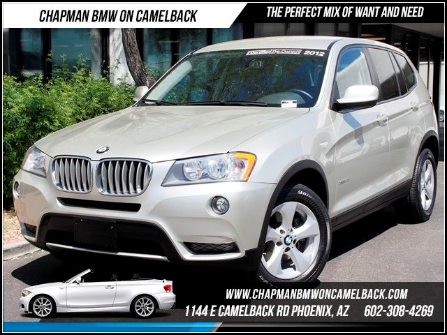 2012 BMW X3 xDrive28i Nav Heated Seats 34441 miles 1144 E Camelback Chapman BMW on Camelback in