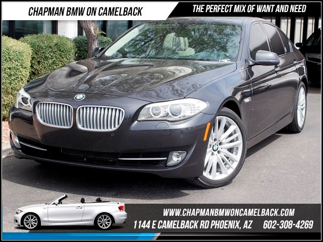 2011 BMW 5-Series 550i Sport Pkg Nav 36506 miles 1144 E Camelback Summer is here and the deals a