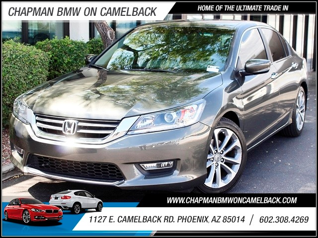 2013 Honda Accord Sport 21571 miles 1127 E Camelback BUY WITH CONFIDENCE Chapman BMW is l