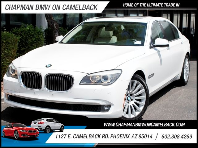 2010 BMW 7-Series 750Li Lux Seats Conv Pkg 58077 miles 1144 E Camelback Summer is here and the d