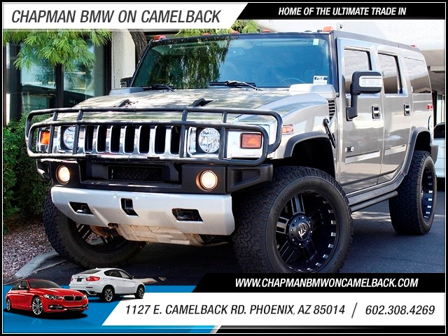 2008 HUMMER H2 Luxury 56109 miles 1127 E Camelback BUY WITH CONFIDENCE Chapman BMW is loc