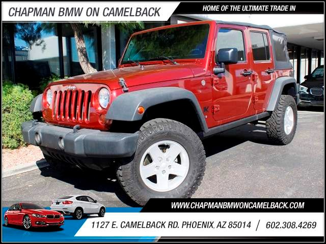 2008 Jeep Wrangler Unlimited X 89285 miles 1127 E Camelback BUY WITH CONFIDENCE Chapman B