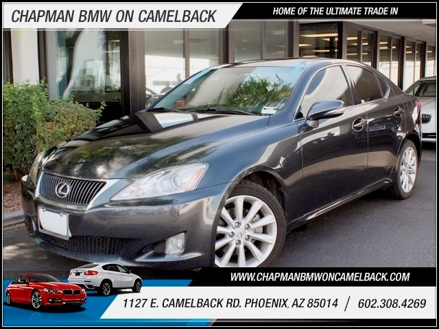 2009 Lexus IS 250 72189 miles 1127 E Camelback BUY WITH CONFIDENCE Chapman BMW Used Car C