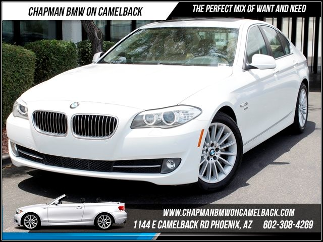 2011 BMW 5-Series 535i PremCold Weather Pkg Nav 43155 miles 1144 E Camelback Summer is here and