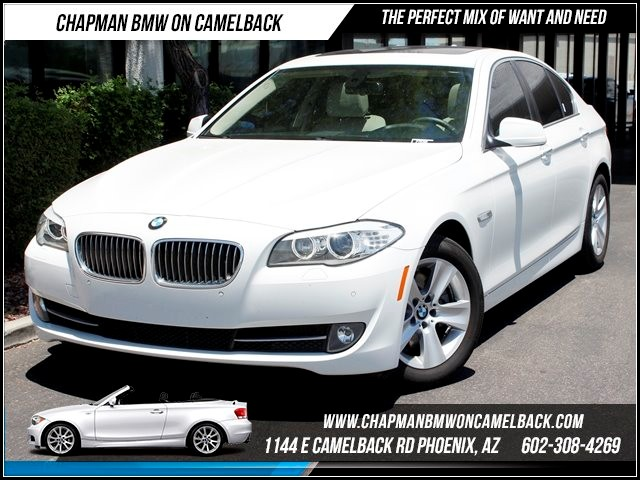 2012 BMW 5-Series 528i PremTech Pkg 24707 miles 1144 E Camelback Summer is here and the deals a