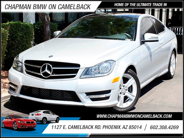2014 Mercedes C-Class C250 8686 miles 1127 E Camelback BUY WITH CONFIDENCE Chapman BMW is