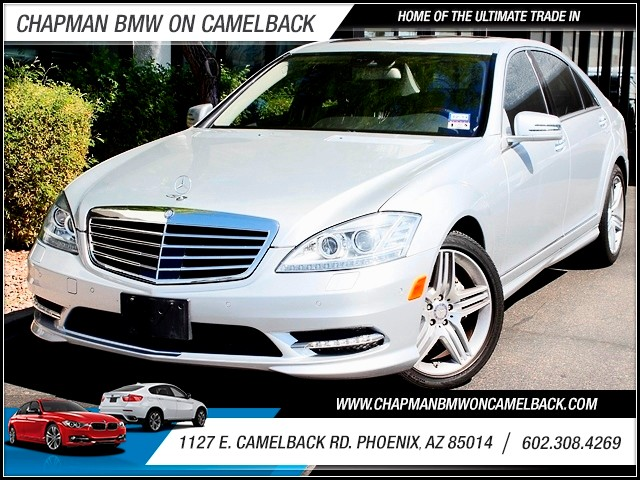 2013 Mercedes S-Class S550 17251 miles 1127 E Camelback BUY WITH CONFIDENCE Chapman BMW U