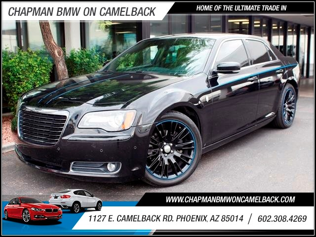 2012 Chrysler 300 MOPAR 12 39420 miles Under hood is the 57-liter Hemi V-8 with 363 bhp The 5-sp