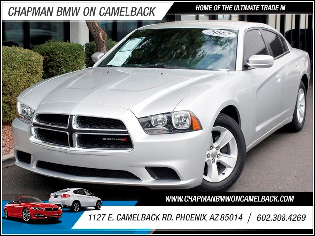 2012 Dodge Charger SE 46327 miles 1127 E Camelback BUY WITH CONFIDENCE Chapman BMW is loc