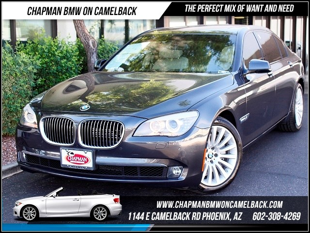 2010 BMW 7-Series 750Li 62271 miles 6yr 100k Pre Paid Maintenance inc 1144 E Camelback Summer i