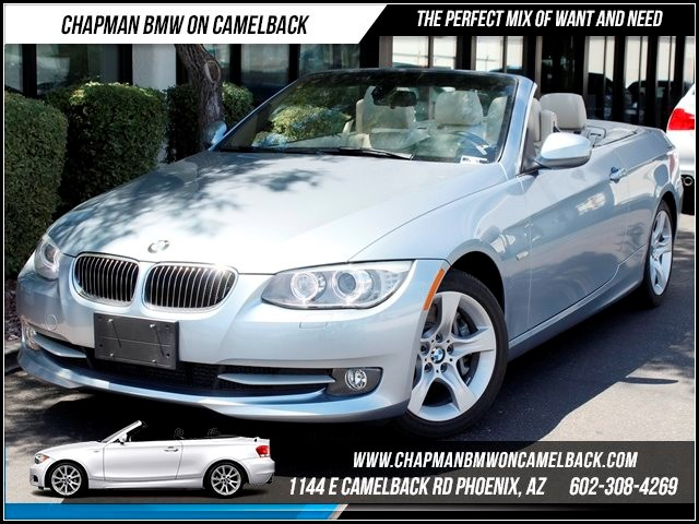 2011 BMW 3-Series Conv 335i Prem Pkg 30379 miles 1144 E Camelback Summer is here and the deals a