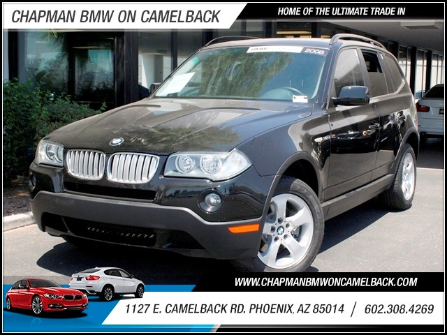 2008 BMW X3 30si 69588 miles 1127 E Camelback BUY WITH CONFIDENCE Chapman BMW Used Car C