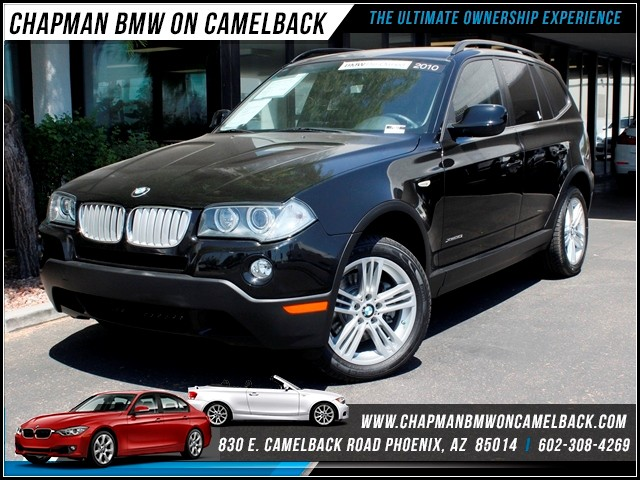 2010 BMW X3 xDrive30i 56308 miles 1127 E Camelback BUY WITH CONFIDENCE Chapman BMW Used C
