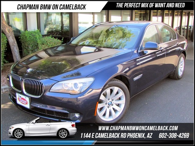 2012 BMW 7-Series 740i 31306 miles 1144 E Camelback The BMW Certified Edge Sales Event If you