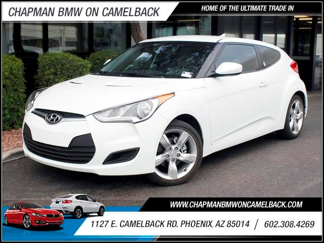 2012 Hyundai Veloster 29228 miles 1127 E Camelback BUY WITH CONFIDENCE Chapman BMW is loc