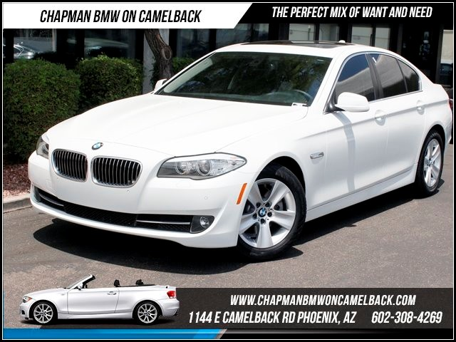 2011 BMW 5-Series 528i 34308 miles 1144 E Camelback Summer is here and the deals are sizzling