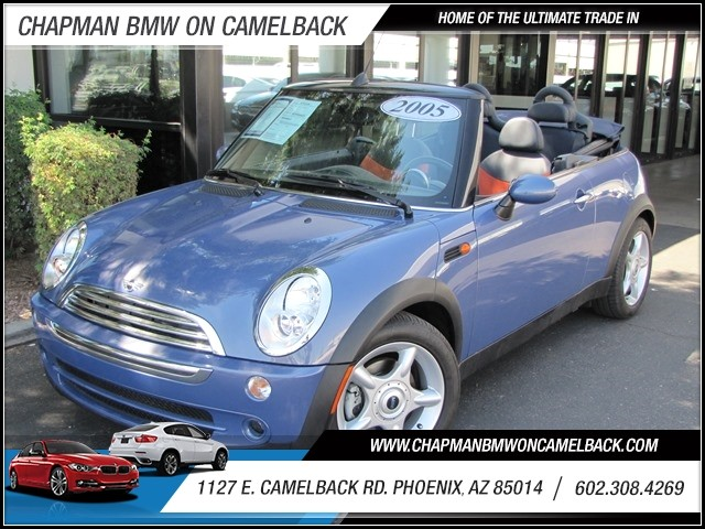 2005 MINI Cooper 29800 miles 1127 E Camelback BUY WITH CONFIDENCE Chapman BMW is located