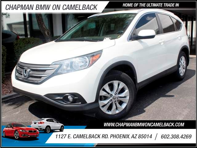 2012 Honda CR-V EX-L 37612 miles 1127 E Camelback BUY WITH CONFIDENCE Chapman BMW is loca