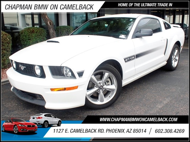 2008 Ford Mustang GT Premium 51848 miles 1127 E Camelback BUY WITH CONFIDENCE Chapman BMW