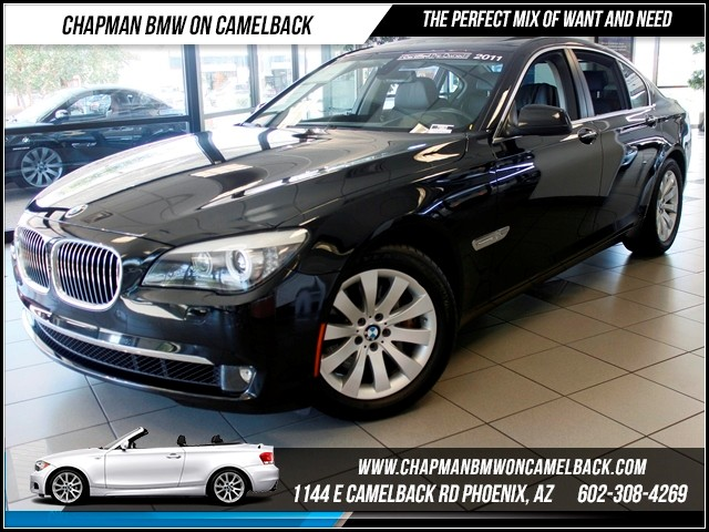 2011 BMW 7-Series 750i xDrive 30196 miles 1144 E Camelback The BMW Certified Edge Sales Event