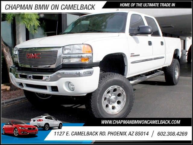 2005 GMC Sierra 2500HD SLE 58008 miles 1127 E Camelback BUY WITH CONFIDENCE Chapman BMW i