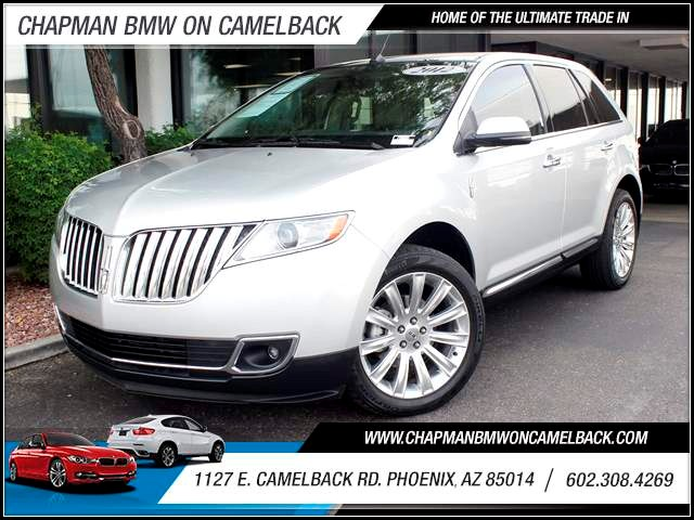 2012 Lincoln MKX 44208 miles 1127 E Camelback BUY WITH CONFIDENCE Chapman BMW is located