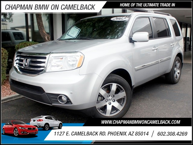 2012 Honda Pilot Touring 31596 miles 1127 E Camelback BUY WITH CONFIDENCE Chapman BMW is