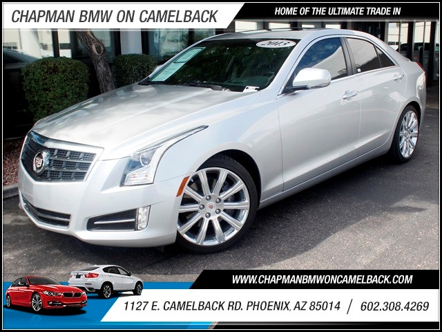 2013 Cadillac ATS 20T Premium 11732 miles 1127 E Camelback BUY WITH CONFIDENCE Chapman B