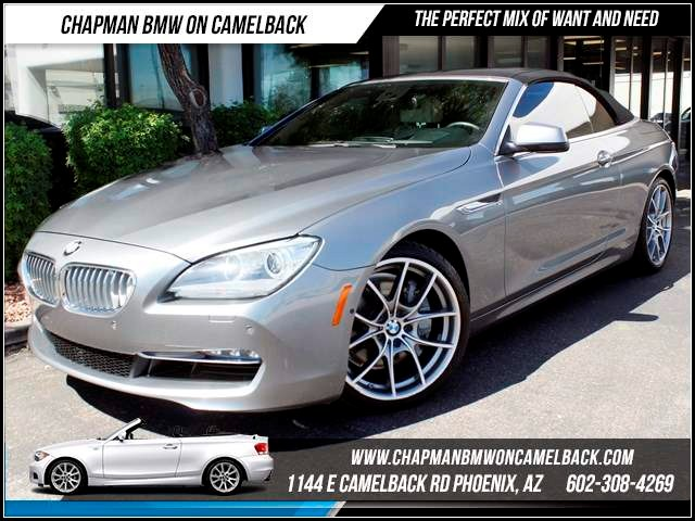 2012 BMW 6-Series 650i 43860 miles 1144 E CamelbackChapman BMW on Camelback in Phoenix is the CP
