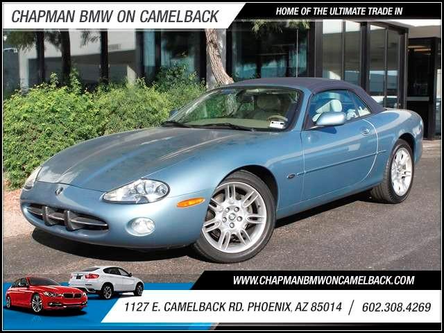 2002 Jaguar XK-Series XK8 54847 miles 1127 E Camelback BUY WITH CONFIDENCE Chapman BMW is