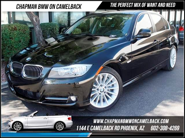 2011 BMW 3-Series Sdn 335i  Prem Pkg Comfort Access 11197 miles 1144 E Camelback The BMW Certifi