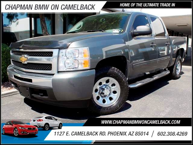 2011 Chevrolet Silverado 1500 LS Crew Cab 55677 miles One Previous Owner Regularly Maintained Ru