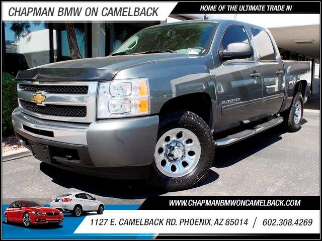 2011 Chevrolet Silverado 1500 LS Crew Cab 55677 miles 1127 E Camelback BUY WITH CONFIDENCE