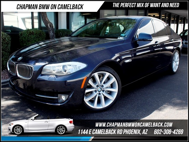 2011 BMW 5-Series 535i 22989 miles 1144 E CamelbackChapman BMW on Camelback in Phoenix is the CP