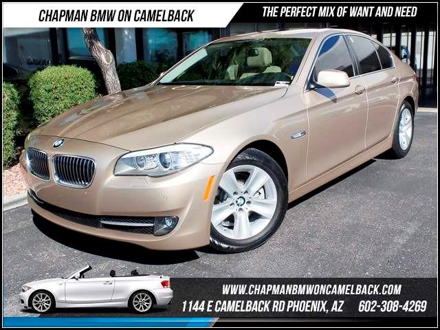 2011 BMW 5-Series 528i Prem Conv Pkg 34610 miles 1144 E Camelback The BMW Certified Edge Sales E