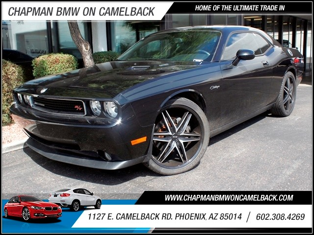 2010 Dodge Challenger RT 46801 miles 1127 E Camelback BUY WITH CONFIDENCE Chapman BMW is