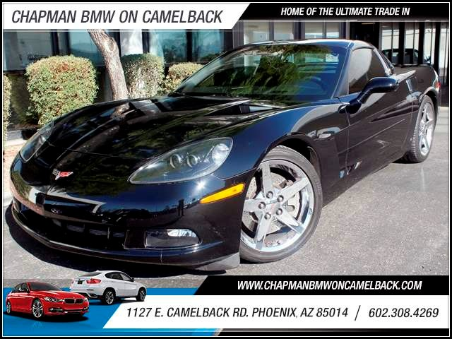 2008 Chevrolet Corvette 24556 miles 1127 E Camelback BUY WITH CONFIDENCE Chapman BMW is l