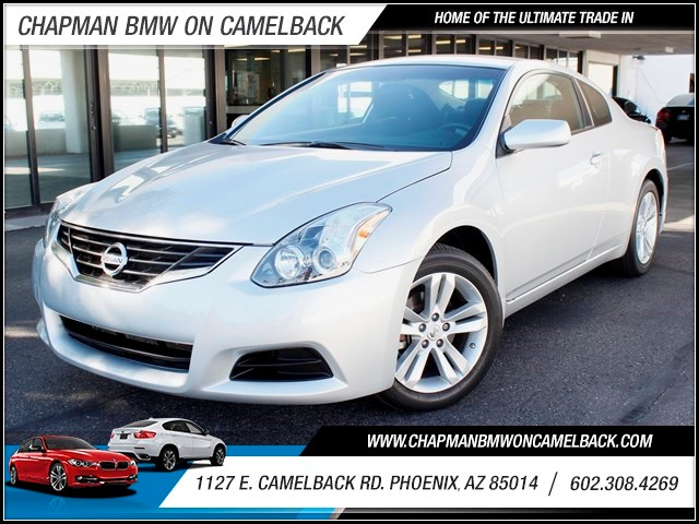 2012 Nissan Altima 25 S 33540 miles 1127 E Camelback BUY WITH CONFIDENCE Chapman BMW is