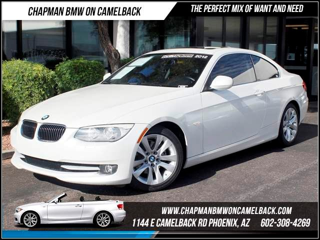 2012 BMW 3-Series Cpe 328i 57735 miles 1144 E CamelbackHappier Holiday Sales Event on Now Chap