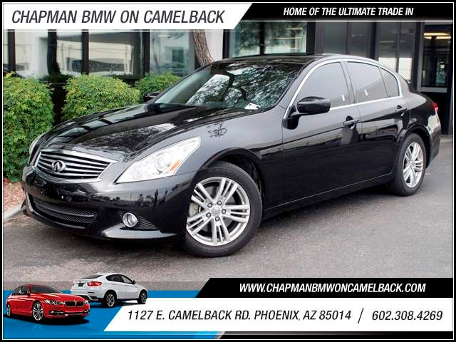 2013 Infiniti G37 Journey 32217 miles 1127 E Camelback BUY WITH CONFIDENCE Chapman BMW is