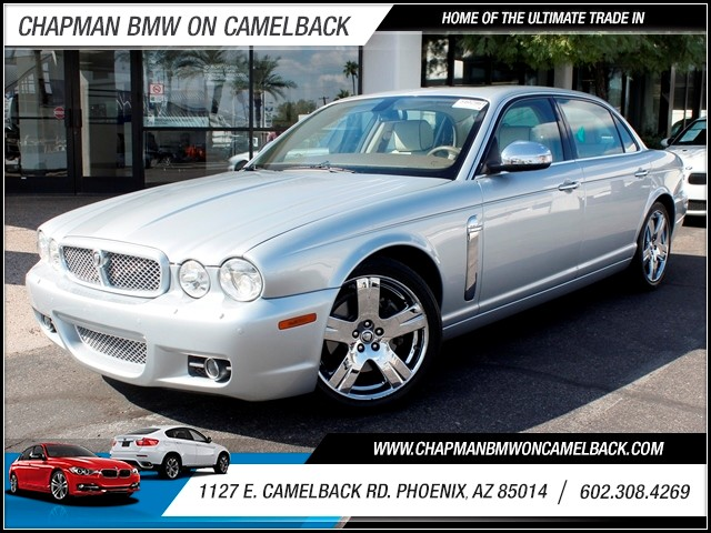 2008 Jaguar XJ-Series Vanden Plas 76104 miles 1127 E Camelback BUY WITH CONFIDENCE Chapma