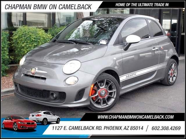 2013 FIAT 500 Abarth 13801 miles 1127 E Camelback BUY WITH CONFIDENCE Chapman BMW is loca