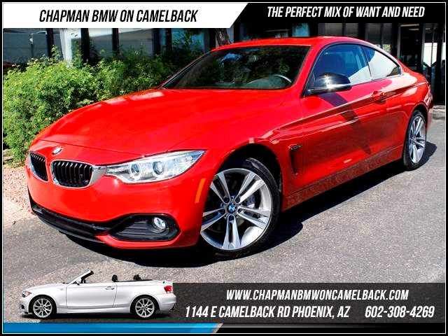 2014 BMW 4-Series 435i Sport Line xDrive Prem Nav 9829 miles 1144 E Camelback The BMW Certified