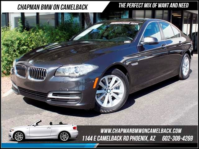 2014 BMW 5-Series 528i Prem Pkg Nav 17524 miles 1144 E Camelback The BMW Certified Edge Sales Ev