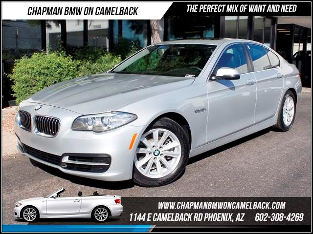 2014 BMW 5-Series 528i Prem Pkg Nav 15413 miles 1144 E CamelbackHappier Holiday Sales Event on N