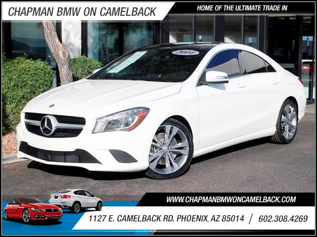 2014 Mercedes CLA-Class CLA250 24626 miles 1127 E Camelback BUY WITH CONFIDENCE Chapman B