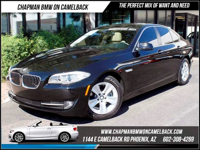 2011 BMW 5-Series 528i Prem Pkg 49884 miles 1144 E CamelbackHappier Holiday Sales Event on Now