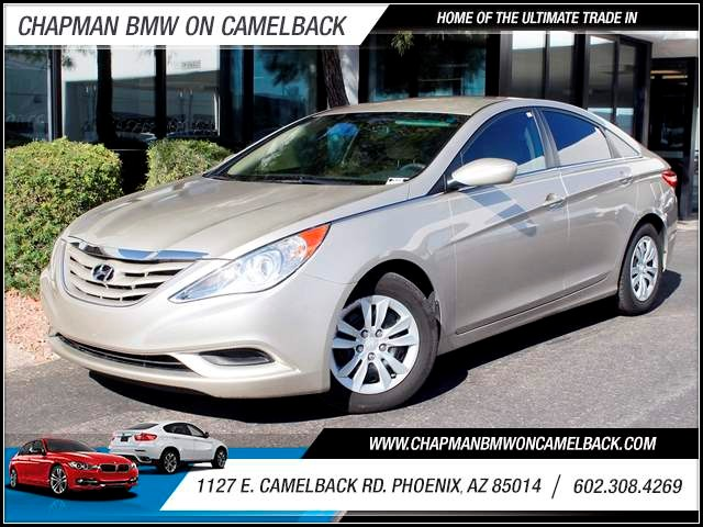 2011 Hyundai Sonata GLS 55327 miles 1127 E Camelback BUY WITH CONFIDENCE Chapman BMW is l