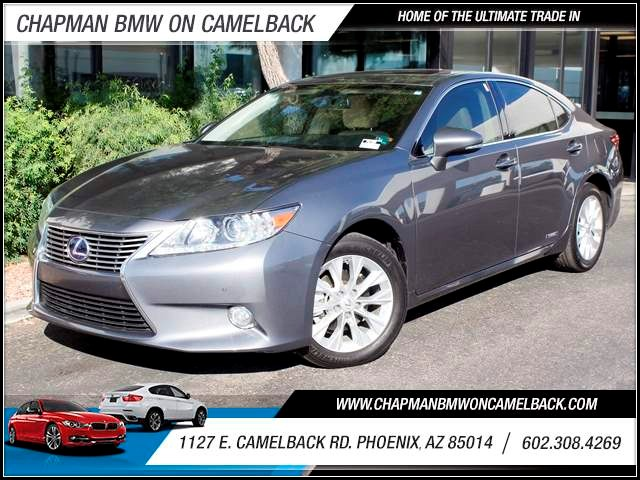 2013 Lexus ES 300h 22784 miles 1127 E Camelback BUY WITH CONFIDENCE Chapman BMW is locate