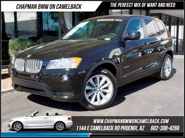 2014 BMW X3 xDrive28i 26662 miles 1144 E CamelbackChapman BMW on Camelback in Phoenix is the CPO